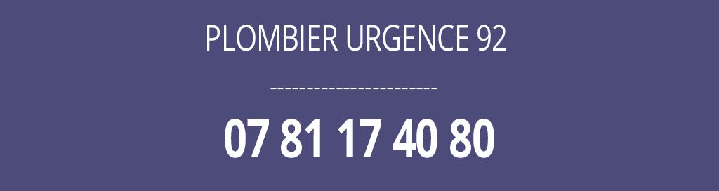 plombier, urgence, 92, dépannage
