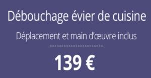 tarif débouchage, curage canalisation, Paris 6
