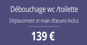 tarif débouchage, curage canalisation, Paris 7