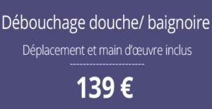 tarif débouchage, curage canalisation, Paris 8