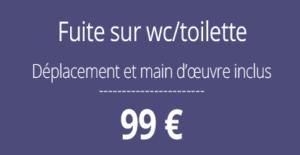 tarif fuite d'eau, plombier 92