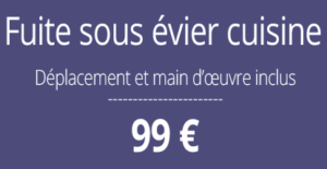 tarif fuite d'eau, plombier Paris 12
