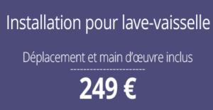 tarif installation plomberie, Paris 15
