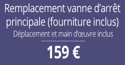 tarif installation plomberie, Paris 5